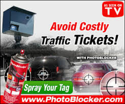 License Plate Photo Red Light Camera Blocker Spray!